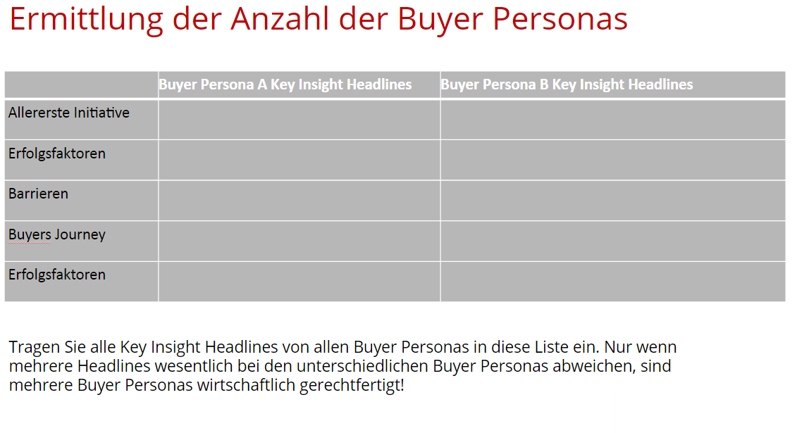 Buyer Personas Interviews  2